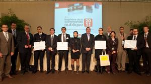 Lauréats des trophées de la commande publique 2011