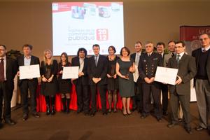 Lauréats des trophées de la commande publique 2012