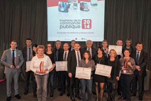 Lauréats des trophées de la commande publique 2014