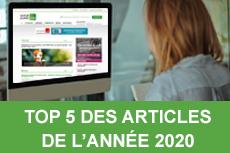 TOP 5 des articles de l'année 2020