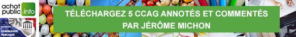 Téléchargez 5 CCAG annotés et commentés