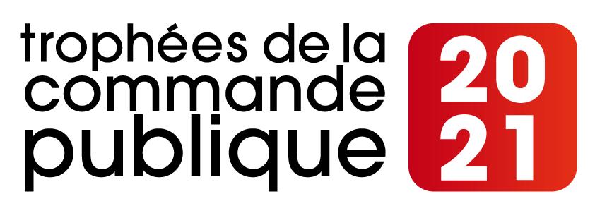 Logo des trophées de la commande publique - Edition 2021