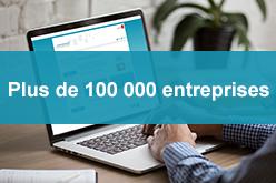 Plus de 100 000 entreprises référencées sur la plateforme achatpublic.com