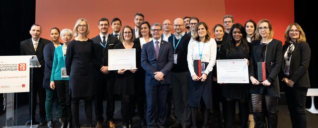 Féliciations aux lauréats des Trophées de la commande publique 2019