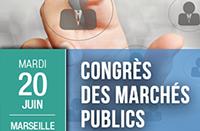 Congrès des marchés publics à  Marseille - 20 juin