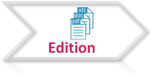 e-redac procédures - Etape 3 Edition