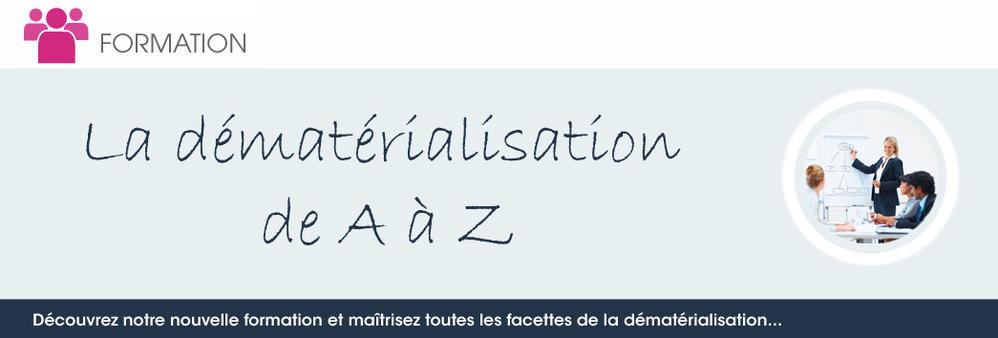La dématérialisation de A à Z