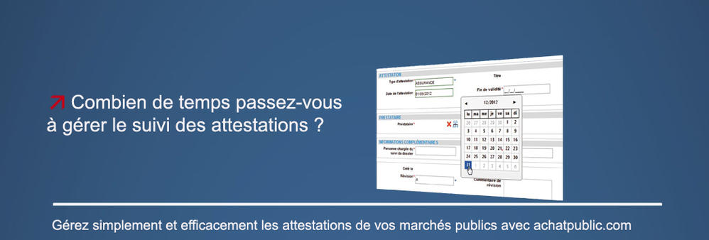 Gestion des attestations