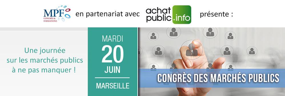 Congrès des marchés publics