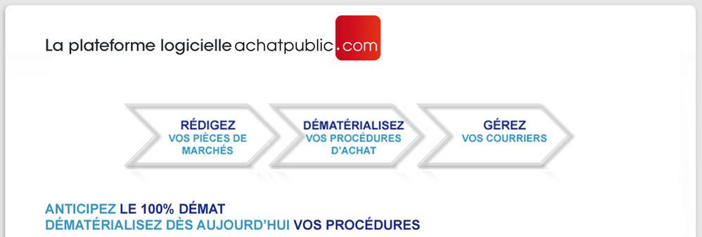 Plateforme logicielle achatpublic.com