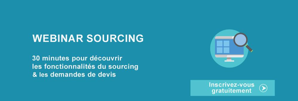 Webinar Sourcing