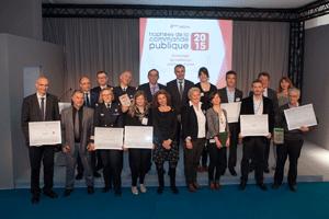 Lauréats des trophées de la commande publique 2015