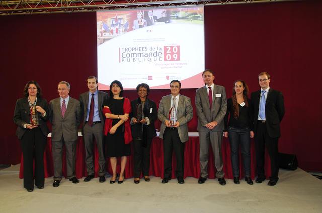 Lauréats des trophées de la commande publique 2009
