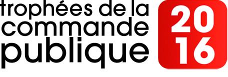 Logo des trophées de la commande publique - Edition 2016
